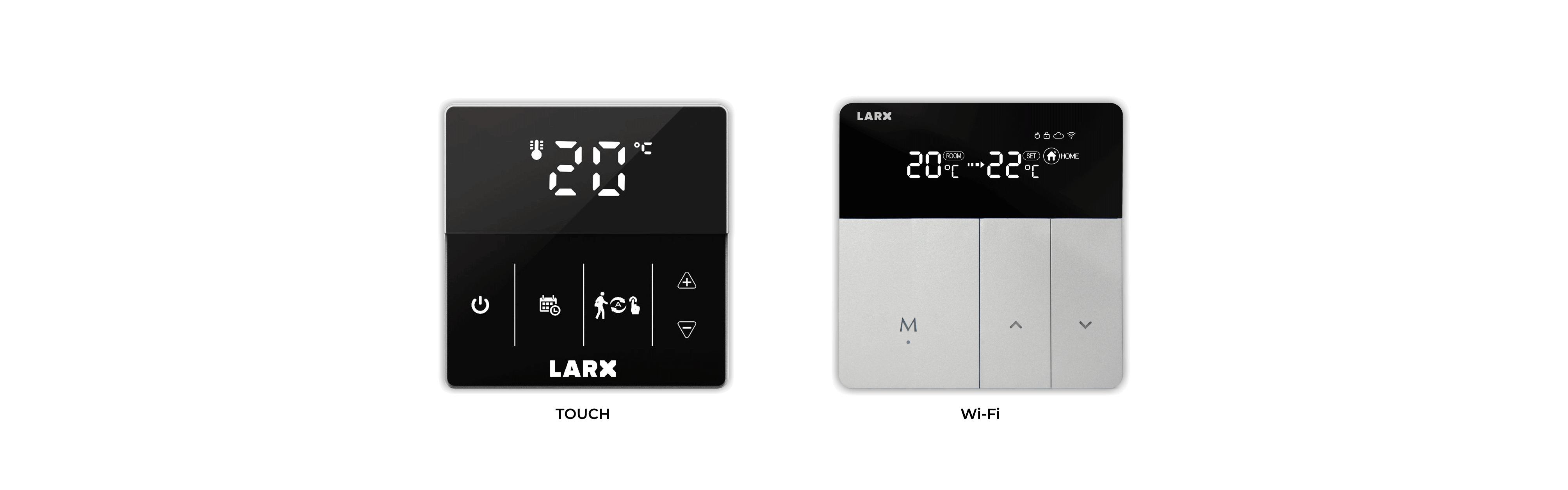 LARX Thermostat für effiziente Regelung